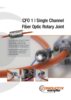 CFO 1 Single Channel Fiber Optic Rotary Joint