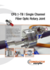 CFO 1-TB  Single Channel Fiber Optic Rotary Joint