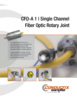 CFO-A 1 Single Channel Fiber Optic Rotary Joint