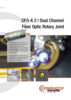 CFO-A 2 Dual Channel Fiber Rotary Optic Rotary Joint