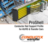 ProShell – Conductor Rail Support Profile for AS/RS & Transfer Cars