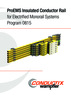 ProEMS Insulated Conductor Rail for Electrified Monorail Systems Program 0815